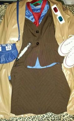 My Female version of Tenth Doctor cosplay #doctor who