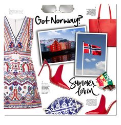 """""""Got Norway?"""" by eilselrenrag ❤ liked on Polyvore featuring Alice + Olivia, Tod's, Gianvito Rossi, Michael Kors and norway"""