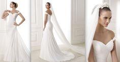 BENA Colección Fashion Vestido de gasa con cuerpo drapeado de escote envolvente. Espalda con escote de pico. Falda con drapeado lateral. Desde 1.250,00 €*