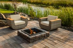 Established in Barkman is a Canadian family-owned landscape manufacturer. We produce hardscapes, landscape kits, and utility concrete products. Precast Concrete, Concrete Patio, Plastic Grass, Garden Show, Outdoor Furniture Sets, Outdoor Decor, Backyard Landscaping, Landscaping Ideas, Outdoor Living