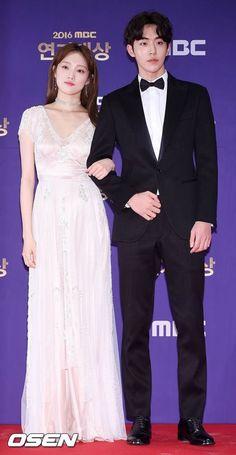 lee sung kyung and nam joo hyuk Korean Actresses, Korean Actors, Asian Actors, Weightlifting Fairy Kim Bok Joo Wallpapers, Weightlifting Kim Bok Joo, Korean Celebrities, Celebs, Weighlifting Fairy Kim Bok Joo, Nam Joo Hyuk Lee Sung Kyung