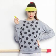 Customiser un sweat avec un tampon / DIY fashion