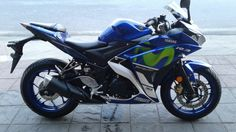 Yamaha R 3 รุ่น motogp edition สวยจัด นางฟ้าชัดๆ วิ่ง 3 พันกิโล เท่านั้น