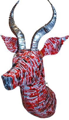 Coca-Cola Gazelle. Wouldn't this look nice over the mantelpiece?