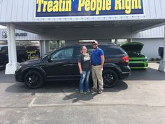 Congratulations Mindy Ford on the purchase of your 2017 Dodge Journey. We appreciate your business & friendship.