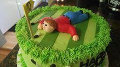 Golf Birthday Cakes, Desserts, Food, Tailgate Desserts, Deserts, Essen, Postres, Meals, Dessert