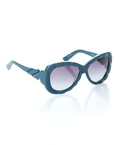 Take a look at this Shiny Blue Flirtini Sunglasses - Women by Diesel