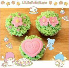 女の子心をくすぐるとってもかわいいカップケーキ♡  みんなもかわいくて甘〜いスイーツの写真をキキララちゃんのフレームでデコってかわいさUPさせよう♡   These cupcakes look so delicious and cute♡  Decorate pictures with the cute Little Twin Stars frame and stamps to make it even cuter♡   Photo taken by NunoumLoveKing on Kawaii★Cam    JoinKawaii★Camnow :)   For iOS:   https://itunes.apple.com/jp/app/kawaii-xie-zhen-jia-gonghakawaiikamu*./id529446620?mt=8    For Android :   https://play.google.com/store/apps/details?id=jp.co.aitia.whatifcamera    Follow me on…