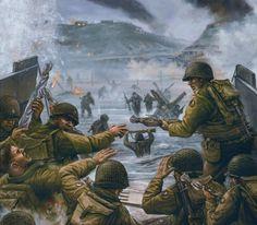Hitting Omaha Beach 6 June 1944
