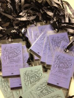 Photographers' passes ready to go
