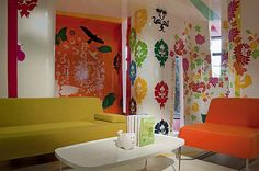 Colorful Interior Design for Cheerful Room D