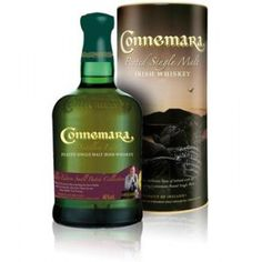 Connemara Connemara, Irish Whiskey Brands, Single Malt Whisky, Label Design, Scotch, Cave, Drinks, Bottle, How To Make