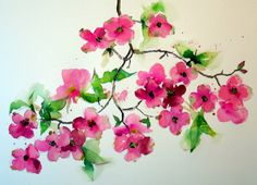 dogwood blossom tattoo - Google Search