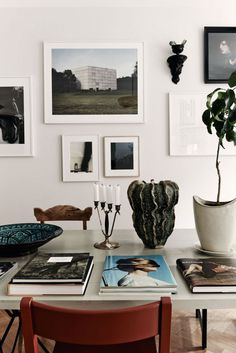 art, plants and book
