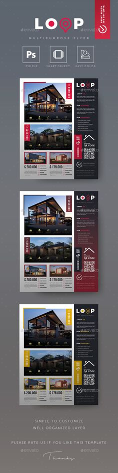 Real Estate Flyer Real Estate Flyer  Real Estate Flyer Template is a great tool for promoting your real estate business also useful for a realtor or a real estate agent. You can use it for real estate listings, building projects, luxury real estate projects, advertising office, corporate ads, advertising homes or property for sale or houses for rent. Fully editable template, you can add images of your choice and change the texts.