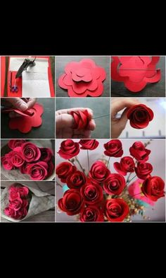 Dont't throw your old books, turn them into these gorgeous paper roses . They would make a beautiful bouquet in the center of a desk or to place as Diy Paper, Paper Crafts, Diy Crafts, Hyacinth Flowers, Toddler Themes, Floating Candle Centerpieces, Rainbow Roses, Old Book Pages, Paper Roses