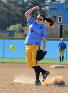 Cape sophomore Hailey Passwaters struck out 12 batters and did not allow a single run in the Vikings' 10-0 victory over the Senators. Click softball photo to read entire sports article: Cape softball picks up first win with 10-0 victory over Senators