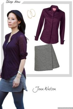 Elementary TV Series - Get Joan Watsons Look - Sky Living HD
