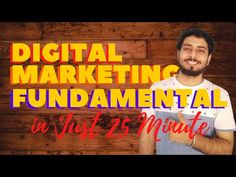DIGITAL MARKETING FUNDAMENTAL in Just 25 Mins   FREE Digital Marketing Course   Pallab Ghosh - YouTube Free Instagram, Business Tips, Digital Marketing, Education, Youtube, Onderwijs, Learning, Youtubers, Youtube Movies