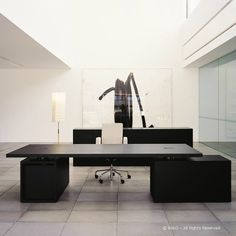 1x Executive NORMAL Desk (by JEAN NOUVEL for Bulo)