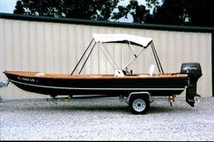 Outboard Skiff 18 (OB18) - Study Plans