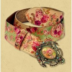 Michal Negrin Clothing Collection - Designer Belts by hanan.crystal