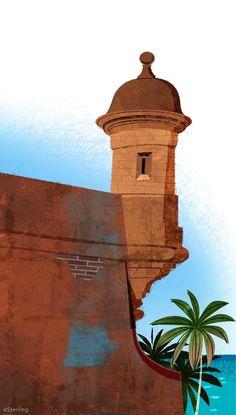 El Morro Fortress, San Juan, Puerto Rico - Jamey Christoph