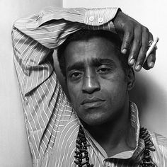 Sammy Davis Jr. (1925-1990) - American entertainer, dancer, singer, actor of stage and screen, musician, impressionist noted for his impersonations of actors, musicians and other celebrities. Photo by Clive Arrowsmith
