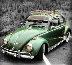 a beetle with head lamp eye lids, a visor and luggage rack