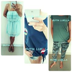 Butik Luella on Facebook #woman #girl #sweet #cute #amazing #clothes #thirts #blouse #dress #trousers #elegance #colorfull #shop #boutique #butik #sukienka #bluzka #koszulka #śliczna #kobieta #dziewczyna #ubrania #spodenki #butikluella
