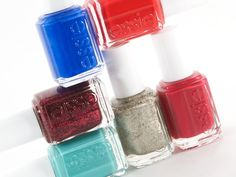Essie Winter 2012 Collection, not a fan of the the two red cremes, the rest are gorgeous!