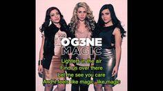 OGENE - Magic Lyrics The Voice of Holland (O'G3NE)