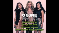 OGENE - Magic Lyrics The Voice of Holland (O'G3NE)