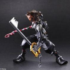 Square Enix Kingdom Hearts II: Sora Play Arts Kai Action…