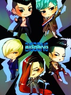 So cute! I absolutely adore TOP's blue hair! But who doesn't?