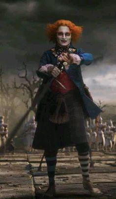 Johnny Depp as Mad Hatter Alice in Wonderland                                                                                                                                                                                 More