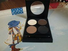 Starlooks Brow Compact. Only swatched the dark brown and the black). $8 shipped.