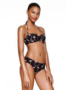 Flamingo bikini // Kate Spade