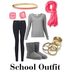 """""""Winter School Outfit"""" by gabpacitti on Polyvore"""