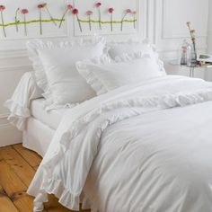 1000 images about linges de maison on pinterest linens - Parure de couette la redoute ...