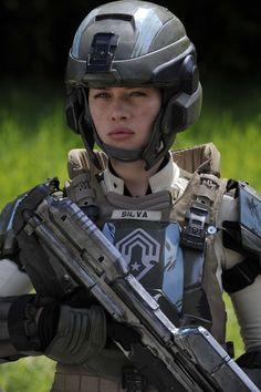 Halo 4 Forward Unto Dawn...Anna Popplewell