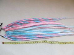 #Patel #Haarteile #Dreads #Loxx #Dreadlocks #Kunsthaar #haare #Cosplay #Cyber #neu #süß #pink