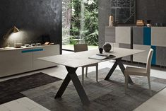 A table that is just the right size. Rectangular table with fixed top . The table is available in 8 different sizes. The fixed top of the Tailor table is. Dining Table Design, Dinning Table, A Table, Dining Area, Dining Room, Elegant Table, Modern Table, Chair Design, Furniture Design