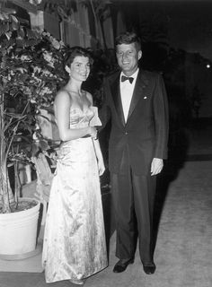 Jackie and John Kennedy