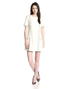 We love the Naomi ponte dress  it has a cool studded detail to give you the perfect rocker edge. #Fashion  #Amazon