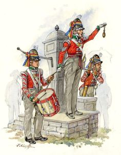 British line infantry recruiting party, British Army Uniform, British Uniforms, Battle Of Waterloo, Waterloo 1815, British Armed Forces, War Of 1812, Kingdom Of Great Britain, Military Personnel, Napoleonic Wars