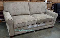 Synergy Home Sleeper Sofa. #Costco #FrugalHotspot