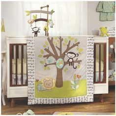 Woodland and Nature Theme Nursery Decor