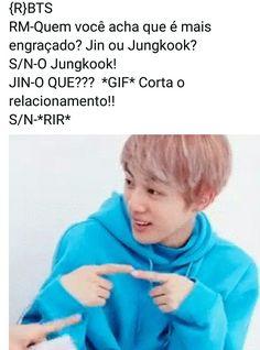Mentira meu amor lkkkkkk Bts Memes, Fanfic Kpop, K Pop, Bts Imagine, Imagines, Bts Jin, Funny Moments, Seokjin, Kdrama