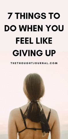 How to cope when you feel like giving up on life and when you don't have the strength to carry on. Whether you've been hurt from a breakup, losing someone, losing your job or you feel empty and lost, here are 7 positive things to focus on when you are struggling with mental health. How to stay strong when times are tough and you feel like giving up when you're heartbroken. #breakup #hope #mentalhealth #motivation #inspiration #positivity #depression #anxiety Giving Up On Life, Feel Like Giving Up, Positive Things, Positive Mindset, Self Development, Personal Development, Depression Recovery, Feeling Empty, Go For It